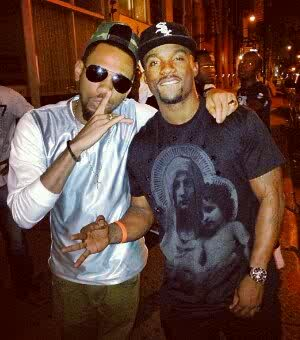 Iyanya and Phyno hanging out in NYC before the commencement of the NEA