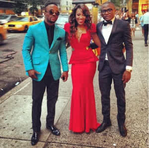 Iyanya and his MMMG gang,Emma N. and Ubi Franklin